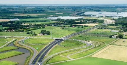 Project A4 Dinteloord – Bergen op Zoom. Foto: Rijkswaterstaat