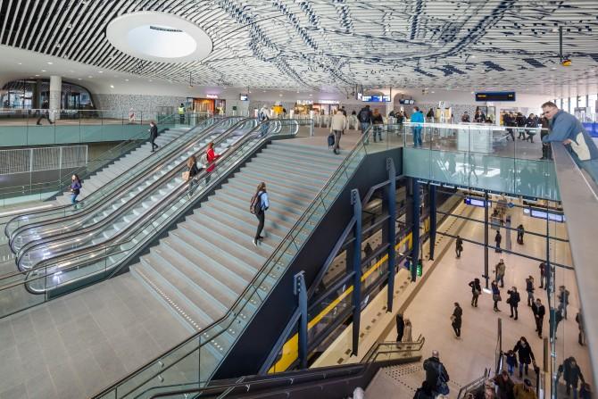 Station Delft. Foto door Jannes Linders