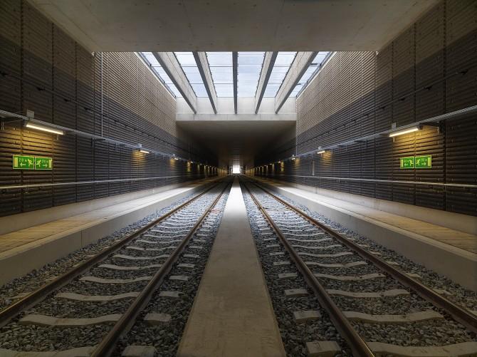 Tunnel Combiplan Nijverdal. Foto: Emile Willems Fotografie