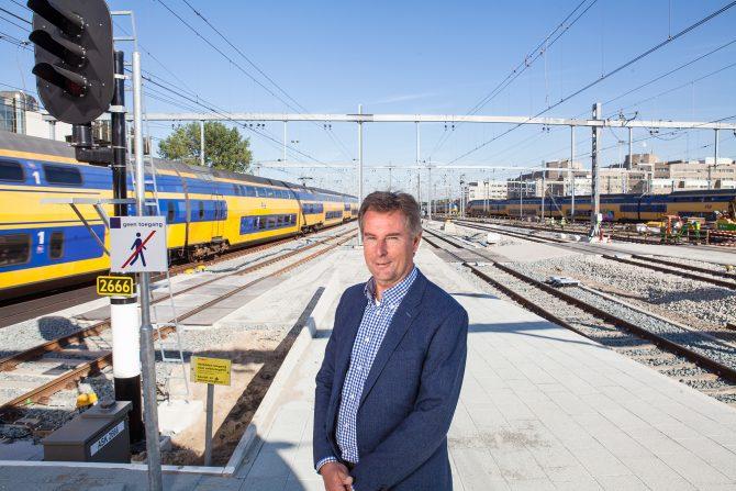 Everard van Rees, manager proefbedrijf Noord/Zuidlijn. Foto door Jorrit 't Hoen.